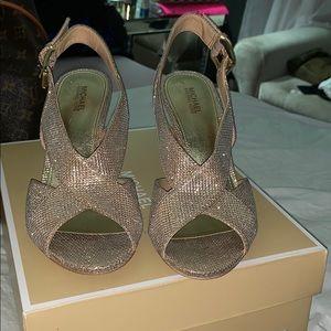 Michael Michael kors 6 1/2 glitter shoes